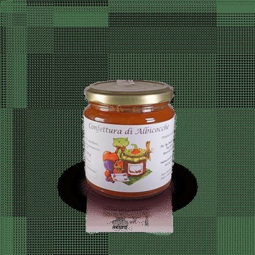Confettura di Albicocche dell'Az. Agr. Mansanti Emanuela, in vendita sullo shop Parma e Gusto by Prosciuttificio San Nicola