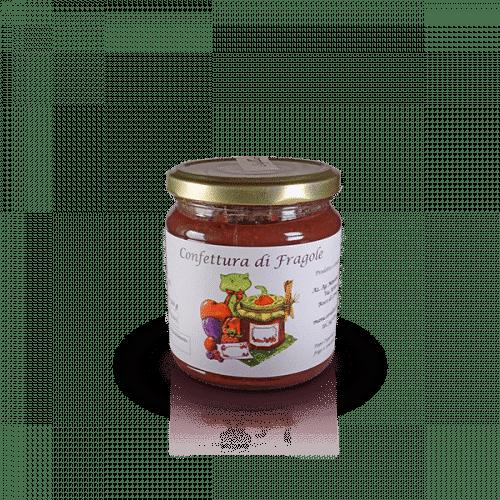 Confettura di Fragole dell'Az. Agr. Mansanti Emanuela, in vendita sullo shop Parma e Gusto by Prosciuttificio San Nicola