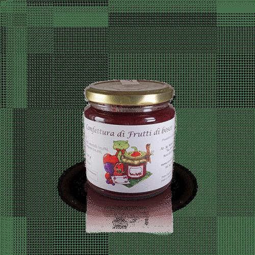 Confettura di Frutti di Bosco dell'Az. Agr. Mansanti Emanuela, in vendita sullo shop Parma e Gusto by Prosciuttificio San Nicola