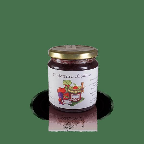 Confettura di More dell'Az. Agr. Mansanti Emanuela, in vendita sullo shop Parma e Gusto by Prosciuttificio San Nicola