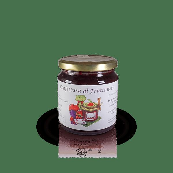 Confettura di Frutti neri dell'Az. Agr. Mansanti Emanuela, in vendita sullo shop Parma e Gusto by Prosciuttificio San Nicola