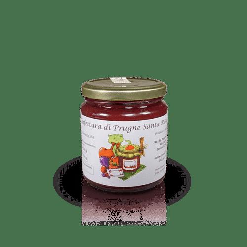 Confettura di Prugne Santa Rosa dell'Az. Agr. Mansanti Emanuela, in vendita sullo shop Parma e Gusto by Prosciuttificio San Nicola