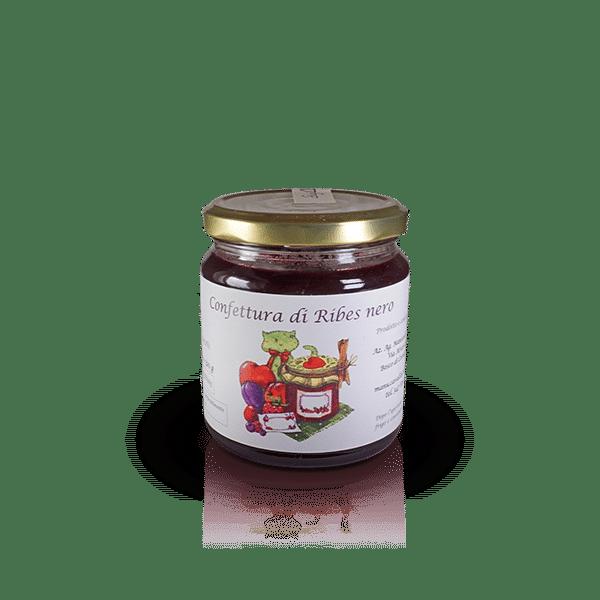 Confettura di Ribes nero dell'Az. Agr. Mansanti Emanuela, in vendita sullo shop Parma e Gusto by Prosciuttificio San Nicola