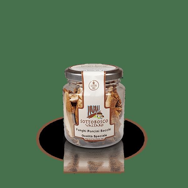 Funghi Porcini Secchi Qualità Speciale della Azienda Sottobosco Valtaro, in vendita sullo shop Parma e Gusto by Prosciuttificio San Nicola