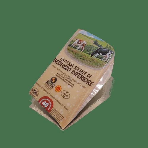 Parmigiano Reggiano 40 Mesi della Latt. Soc. di Beduzzo Inferiore, in vendita sullo shop Parma e Gusto by Prosciuttificio San Nicola