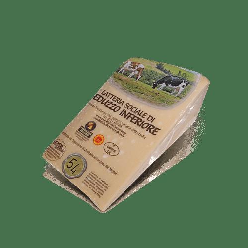 Parmigiano Reggiano 54 Mesi della Latt. Soc. di Beduzzo Inferiore, in vendita sullo shop Parma e Gusto by Prosciuttificio San Nicola