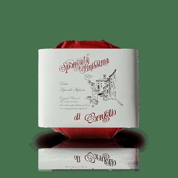 Spongata di Corniglio confezionata della Ditta Superchi Stefania, in vendita sullo shop Parma e Gusto by Prosciuttificio San Nicola